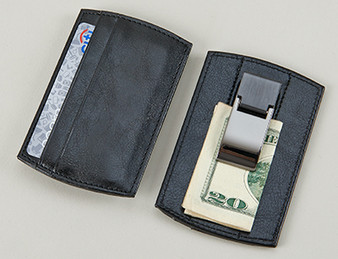 Personalized Money Clip /  Card Holder - Free Engraving