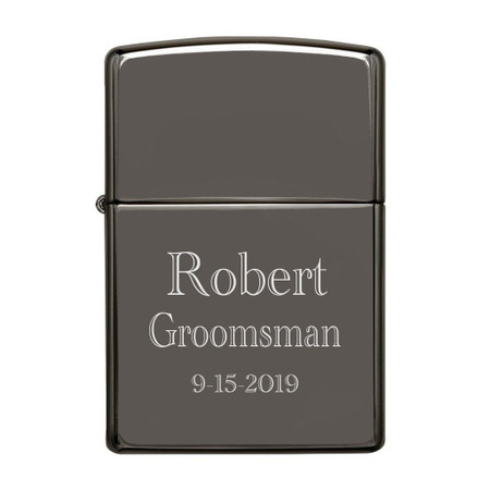Personalized Zippo Black Ice Lighter Free Engraving Forevergiftscom