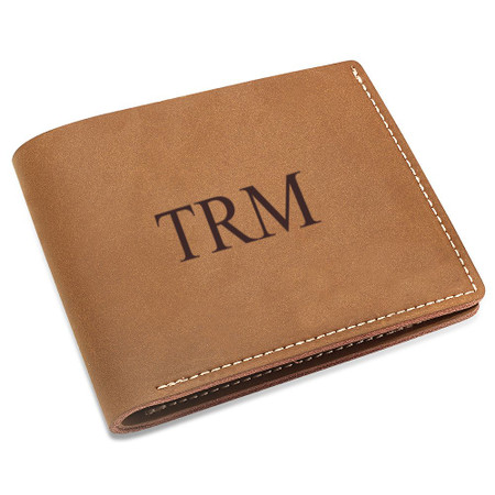 2eb32b1b81a6 Personalized Genuine Leather Men s Vintage Wallet - ForeverGifts.com