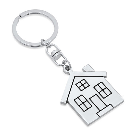 Personalize Quality Metal Home Keychain - ForeverGifts.com ba624ddbfb