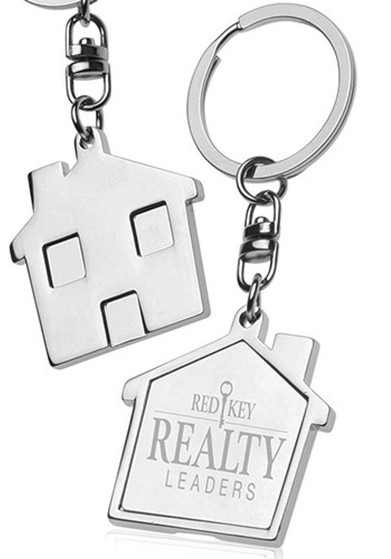 Engraved Home Keychain