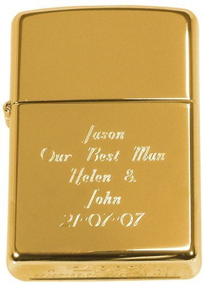 Personalized Genuine Gold Brass Metal Zippo Lighter Forevergiftscom