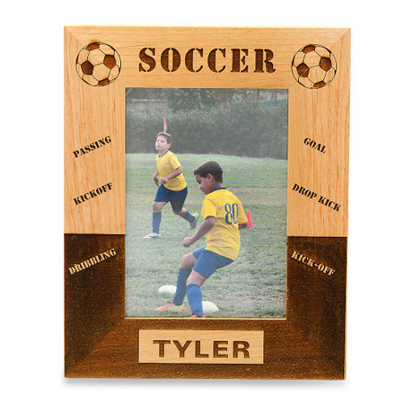 Personalized Soccer Frame