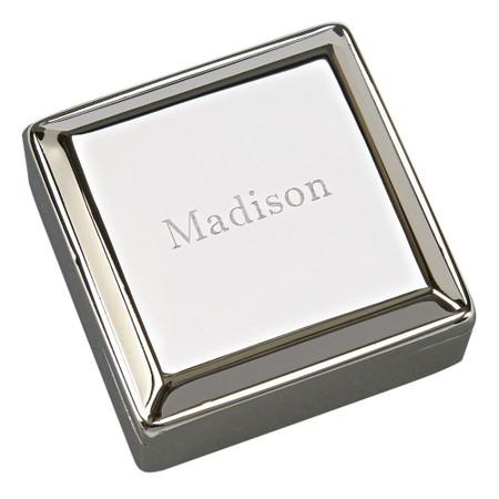 Personalized Jewelry Box