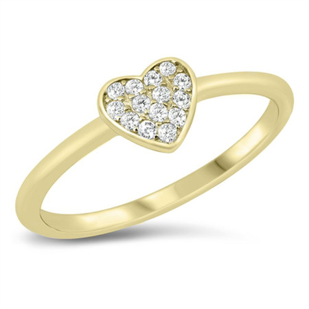 Sterling Silver Ring.Diamond CZ.Ring.Handmade Ring.Flower Design Ring.Heart Ring.Statement Ring.Wedding N Engagement Ring.Bridal Gift.R31-40