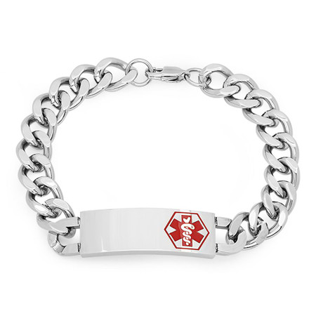 Quality Stainless Steel Medical ID Bracelet