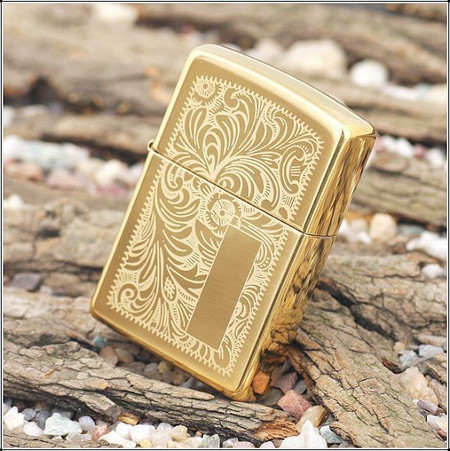 Personalized High Polish Brass Zippo Lighter Forevergiftscom