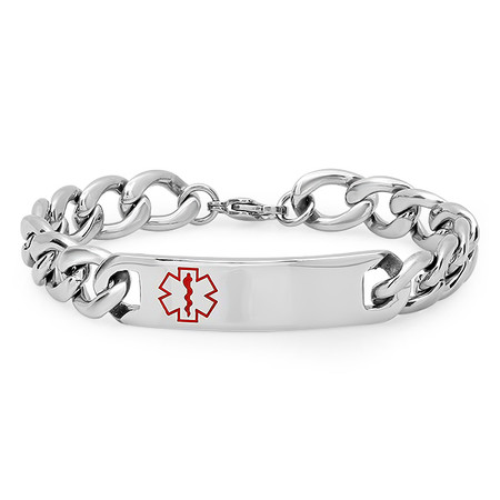 Personalized Medical Alert bracelet - Free Engraving