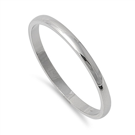 2mm Stainless Steel Personalized Ring