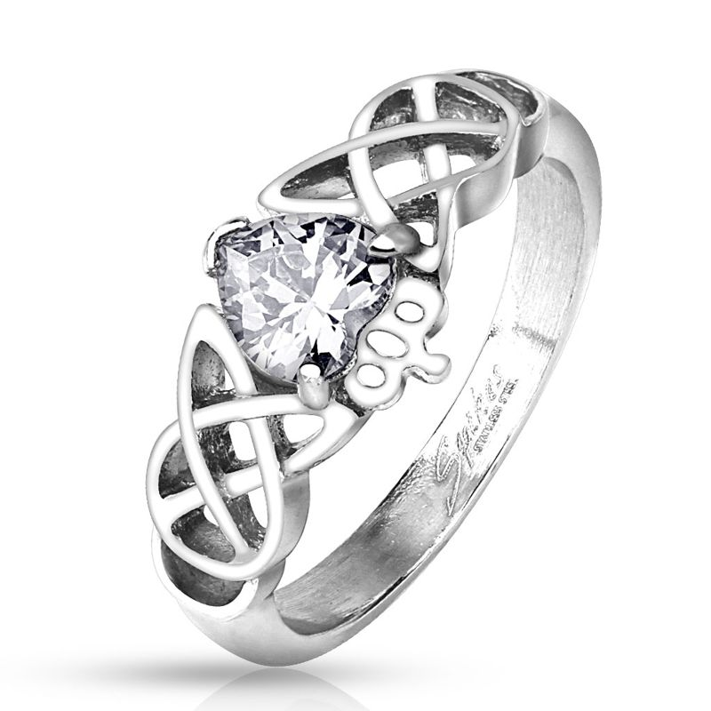 Crown Ring  Heart Ring  Sterling Silver Ring  CustomJewelryflorumSilver BandSterling Silver BandJewelry HandmadeGiftPrincessQueen