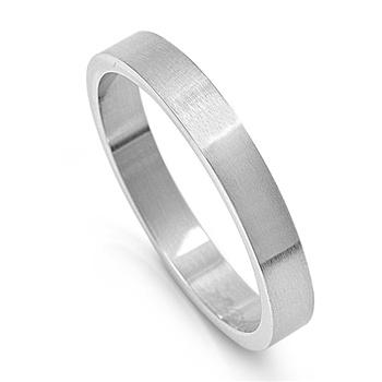 Forever Friends Black Stainless Steel Ring Free inside Engraving