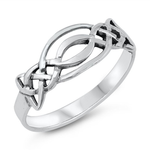 d7cdbb1f983 Personalized .925 Sterling Silver Quality Celtic Ring