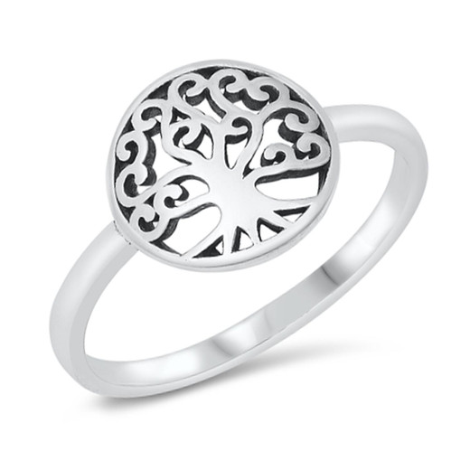 Growth Choose Silver Filled or Plated Wisdom Custom Sized Tree of Life Silver Filled Bangle Bracelet Healing Symbol