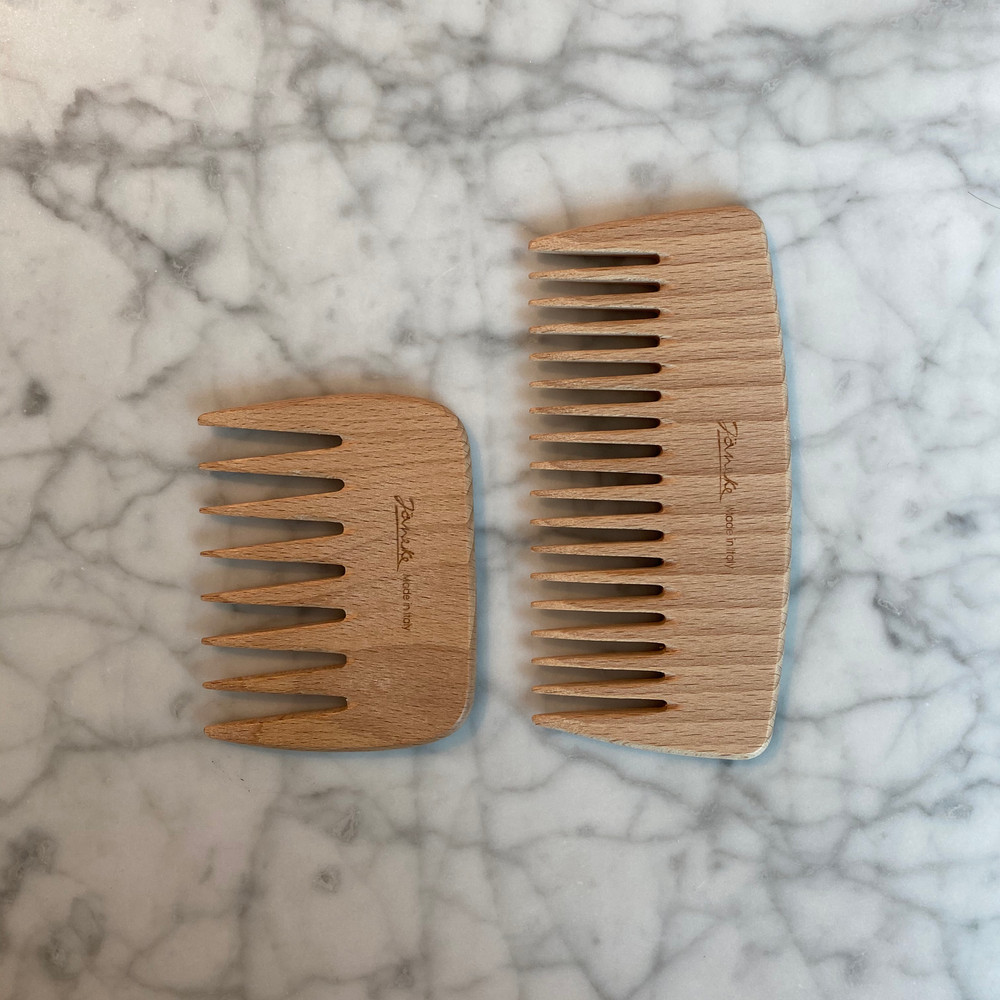 Beech Wood Large Wide Tooth Comb (Copy of JK-LG365)
