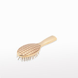 Gold Quilted Gold Small Hairbrush OUTLET