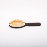 Leopard Print Gold Bristle Classic Hair Brush (JK-SP08GV-MAC)
