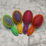 Colourful Mini Hairbrush Assorted OUTLET