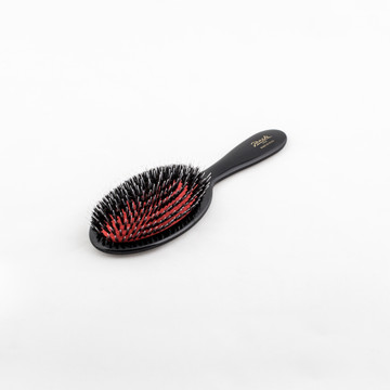 Boar / Nylon Bristle Classic Hairbrush (SP22M_NER) by Janeke - Made in Italy since 1830