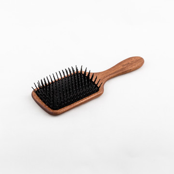 Bobinga Wood Paddle Brush (SP94BK) by Janeke