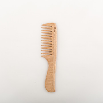 Beech Wood Large Handle Comb by Janeke