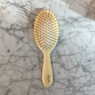 Faux Ivory Classic Hairbrush (JK-SP22G-CRN)