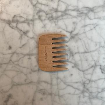 Beech Wood Small Afro Comb (JK-LG363)