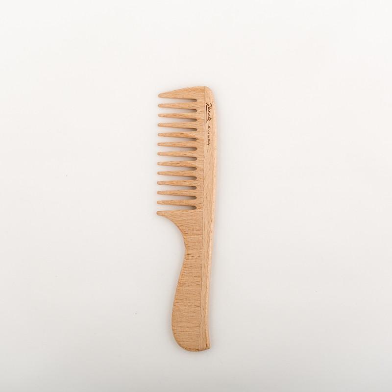 Beech Wood Large Handle Comb by Janeke