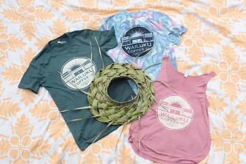 Green & Cream T-Shirt