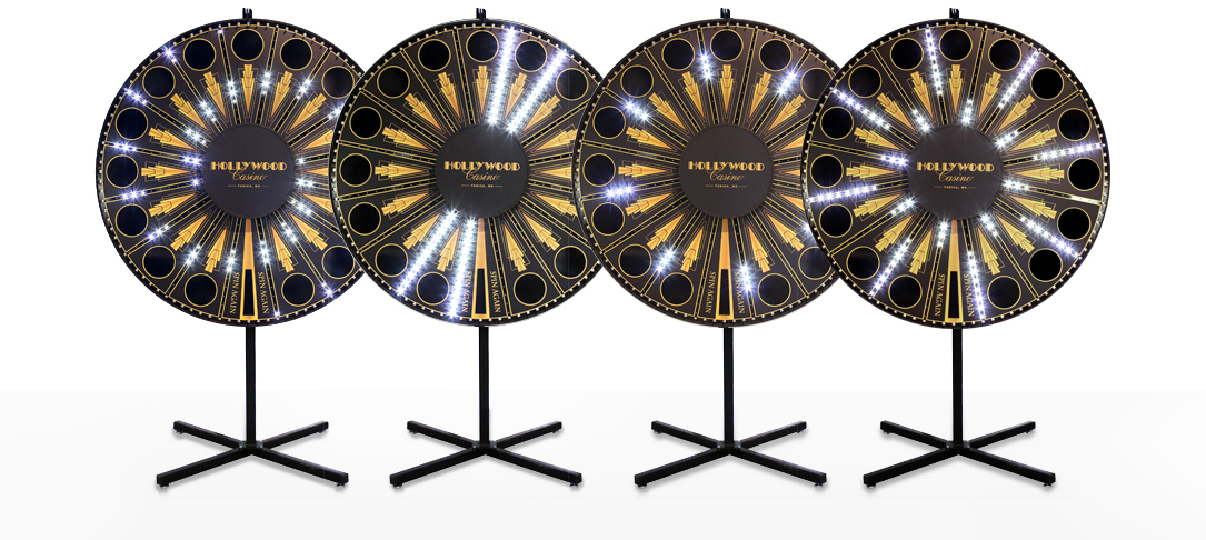 Lighted Prize Wheels