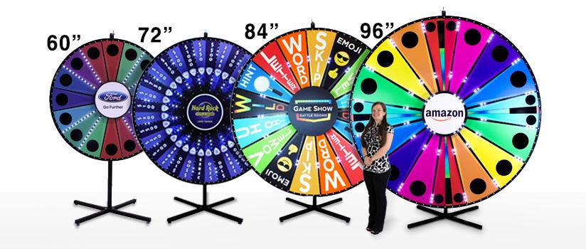 Large prize wheel