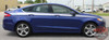 Ford Fusion TOPSIDE Upper Body Door Accent Striping Vinyl Graphics Decals Stripe Kit 2013 2014 2015 2016 2017 2018 2019 2020