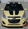Chevy Spark RALLY Hood Roof Racing Stripes Vinyl Graphics Decal Kit 2013 2014 2015 2016