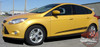 Ford Focus PINPOINT Lower Rocker Panel Door Body Vinyl Graphics Kit 2012 2013 2014 2015 2016 2017 2018