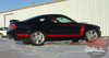 Ford Mustang FASTBACK ONE Boss Style Side Door Body Stripes Vinyl Graphics Decal Kit 2005 2006 2007 2008 2009