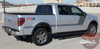 Ford F-150 FORCE TWO DIGITAL Appearance Package Hockey Side Door Vinyl Graphic Decal Kit for 2009-2014 or 2015 2016 2017 2018 2019 2020