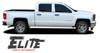 Chevy Silverado Pin Stripe ELITE Upper Body Door Accent Vinyl Graphic Decals Kit 2014 2015 2016 2017 2018