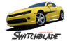 Chevy Camaro SWITCHBLADE Side Door Spears Hood Spikes Striping Vinyl Graphics Decals Kit 2010 2011 2012 2013 2014 2015 Models
