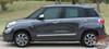 Fiat 500L STRAIGHTAWAY Upper Body Door Accent Abarth Vinyl Graphics Stripes Decals Kit 2014 2015 2016 2017 2018