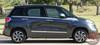 Fiat 500L SIDEKICK Upper Body Door Accent Abarth Vinyl Graphics Stripes Decals Kit for 2014 2015 2016 2017 2018