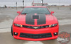 Chevy Camaro S-SPORT Hood Trunk Rally Racing Stripes Vinyl Graphic Decal Kit for 2014 2015 SS Models Only