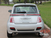Fiat 500  SE5 ITALIAN GUCCI STRIPE Upper Body Door Accent Abarth Vinyl Graphics Stripes Decals Kit for 2007-2018 Models