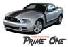Ford Mustang PRIME ONE 302 Boss Style Center Hood Side Door Hockey Rocker Panel Body Vinyl Graphics Kit 2013 2014