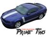 Ford Mustang PRIME TWO 302 Boss Style Center Hood Side Door Hockey Rocker Panel Body Vinyl Graphics Kit 2013 2014