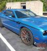 Dodge Challenger FURY Upper Door Accent Vinyl Graphics Stripe Decal Kit fits 2011 2012 2013 2014 2015 2016 2017 2018 2019 2020