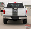 Ford F-150 CENTER STRIPE 15 Center Hood Tailgate Racing Stripes Vinyl Graphics Decals Kit for 2015 2016 2017 2018 2019 2020