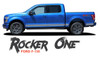 Ford F-150 ROCKER ONE Lower Door Rocker Panel Body Stripes Vinyl Graphic Decals Kit 2015 2016 2017 2018 2019 2020