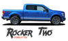 Ford F-150 ROCKER TWO Lower Door Rocker Panel Body Stripes Vinyl Graphic Decals Kit 2015 2016 2017 2018 2019 2020
