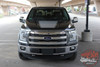 Ford F-150 FORCE HOOD 15 SOLID Appearance Package Center Wide Hood Vinyl Graphic Decal Kit for 2015 2016 2017 2018 2019 2020