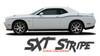 Dodge Challenger SXT SIDE STRIPE Factory OEM Side Door Body Vinyl Graphic Stripes 2011 2012 2013 2014 2015 2016 2017 2018 2019 2020 2021