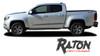 Chevy Colorado RATON Lower Rocker Panel Door Body Accent Vinyl Graphic Factory OEM Style Decal Stripe Kit 2015 2016 2017 2018 2019 2020 2021